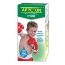 APPETON MULTIVITAMIN LYSINE SYRUP 120ML