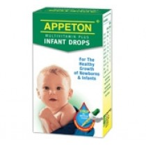 APPETON MULTIVITAMIN PLUS INFANT DROPS 30ML