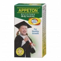 APPETON MULTIVIT HI-Q TAURINE & DHA CHEWABLE TABLET 60S