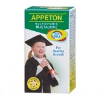 APPETON MULTIVIT HI-Q TAURINE & DHA CHEWABLE TABLET 60S