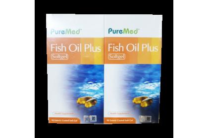 [MPLUS] PUREMED Fish Oil Plus 2 x 90's