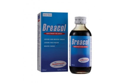 [MPLUS] BREACOL Cough Syrup Adult 120ml
