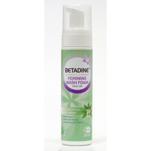 BETADINE FW FOAM FRESH & ACTIVE 200ML