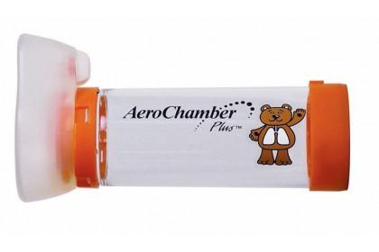 [MPLUS] Aerochamber With Infant Mask [Orange]