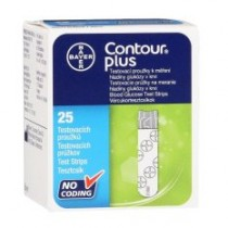 CONTOUR PLUS TEST STRIPS 2X25S