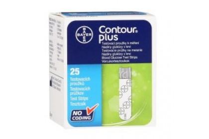 [MPLUS] Contour Plus Test Strips 2X25S