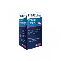 NIPRO TRUE PLUS KETONE TEST STRIPS 50'S