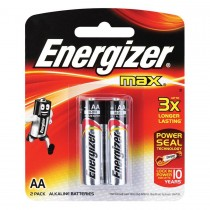 ENERGIZER MAX BATTERY AA 2S