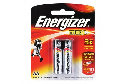 [MPLUS] ENERGIZER MAX BATTERY AA 2S
