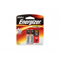 ENERGIZER MAX BATTERY AAA 2S