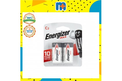 [MPLUS] Energizer Max Battery Type C 2's