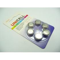 UNICELL UZA675 1.4V ZINC AIR BATTERY 6S