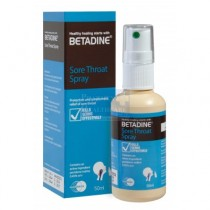 BETADINE SORE THROAT SPRAY 0.45% 50ML