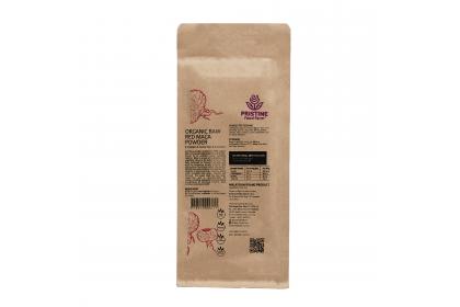 [MPLUS] PRISTINE FOOD FARM Organic Raw Red Maca Powder 200g