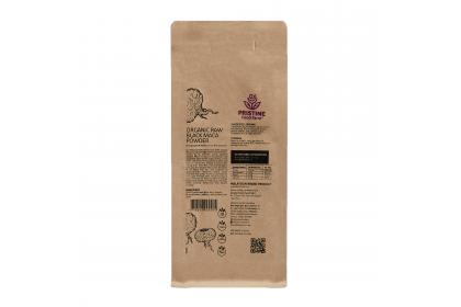 [MPLUS] PRISTINE FOOD FARM Organic Raw Black Maca Powder 200g