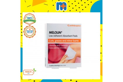[MPLUS] SMITH & NEPHEW Melolin Absorbent Pads 5X5Cm 5S