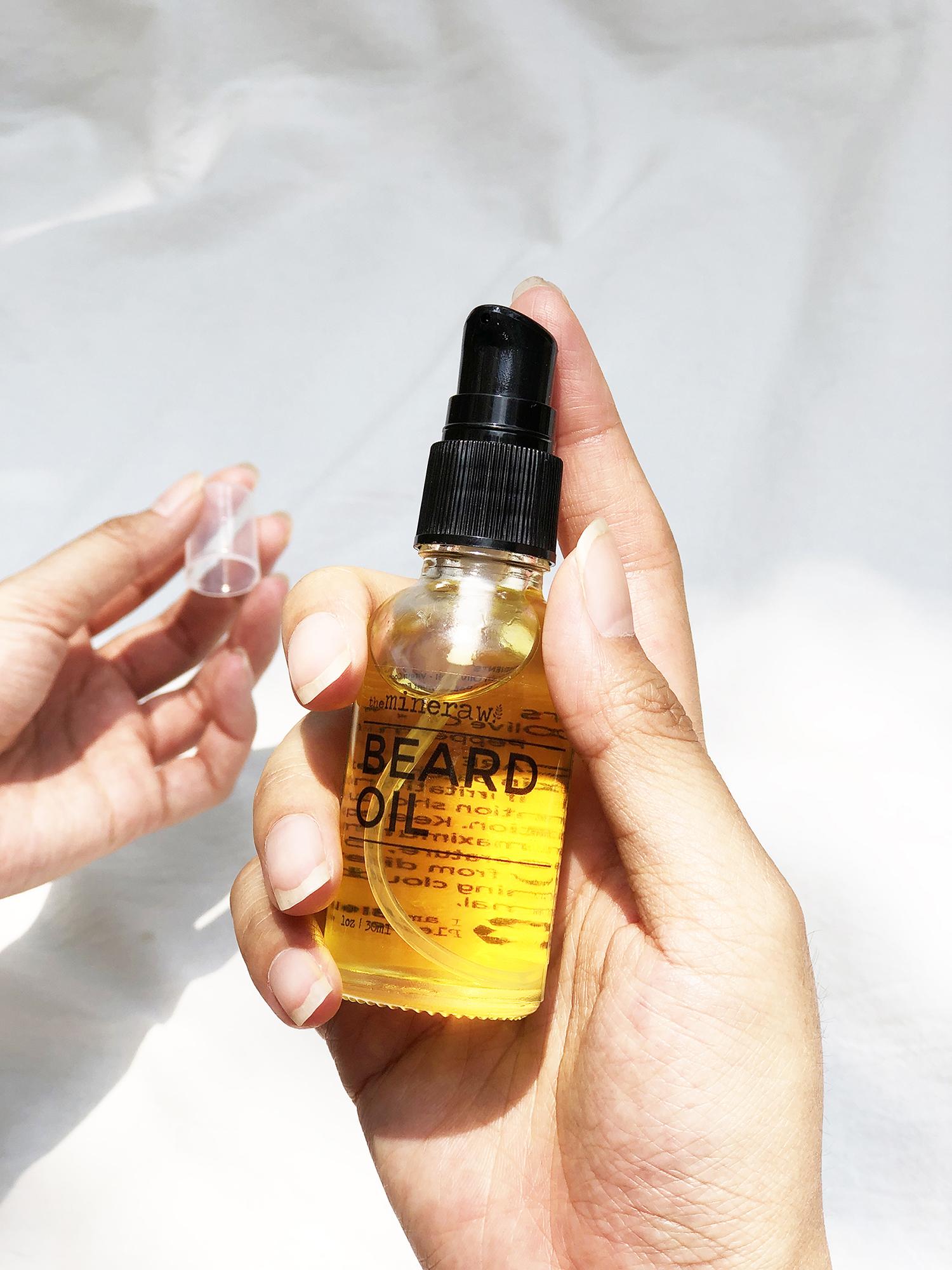 [MPLUS] The Mineraw Beard Oil 30Ml