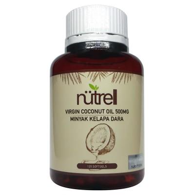 [MPLUS] Nutrell Virgin Coconut Oil Softgel 120S
