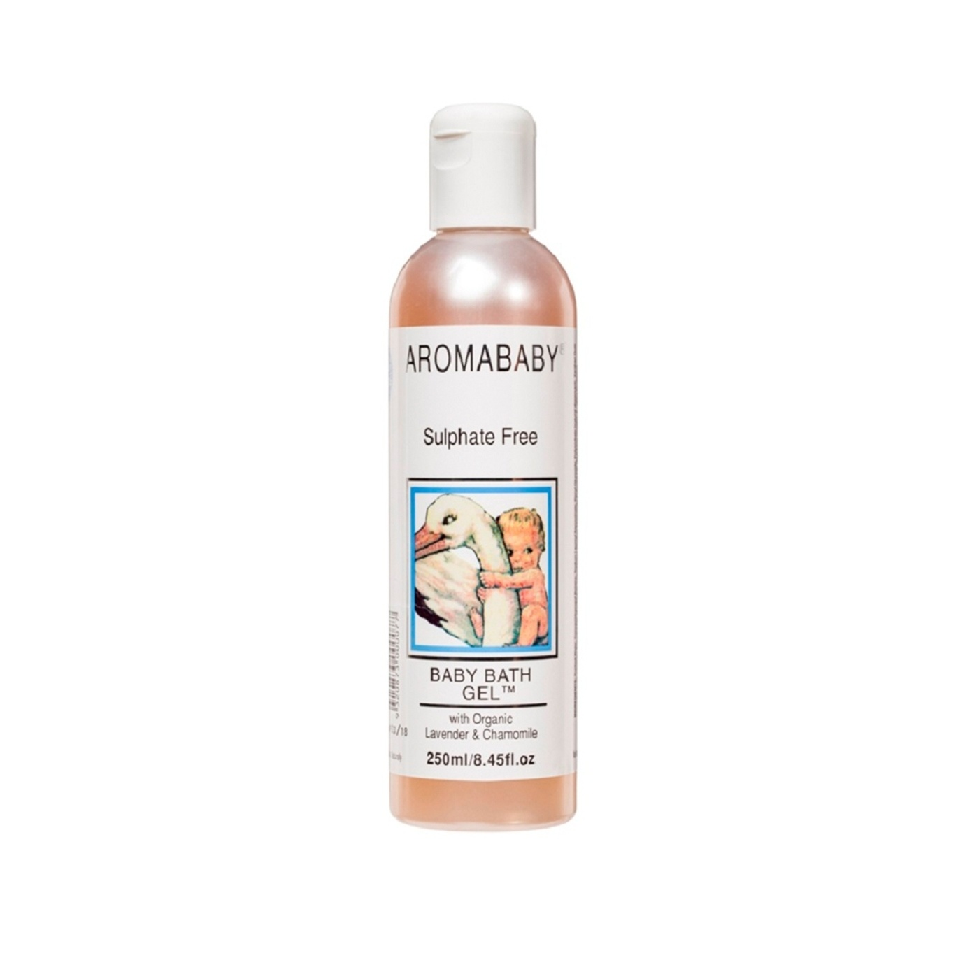[MPLUS] Aromababy Bath Gel With Organic Chamomile 250Ml
