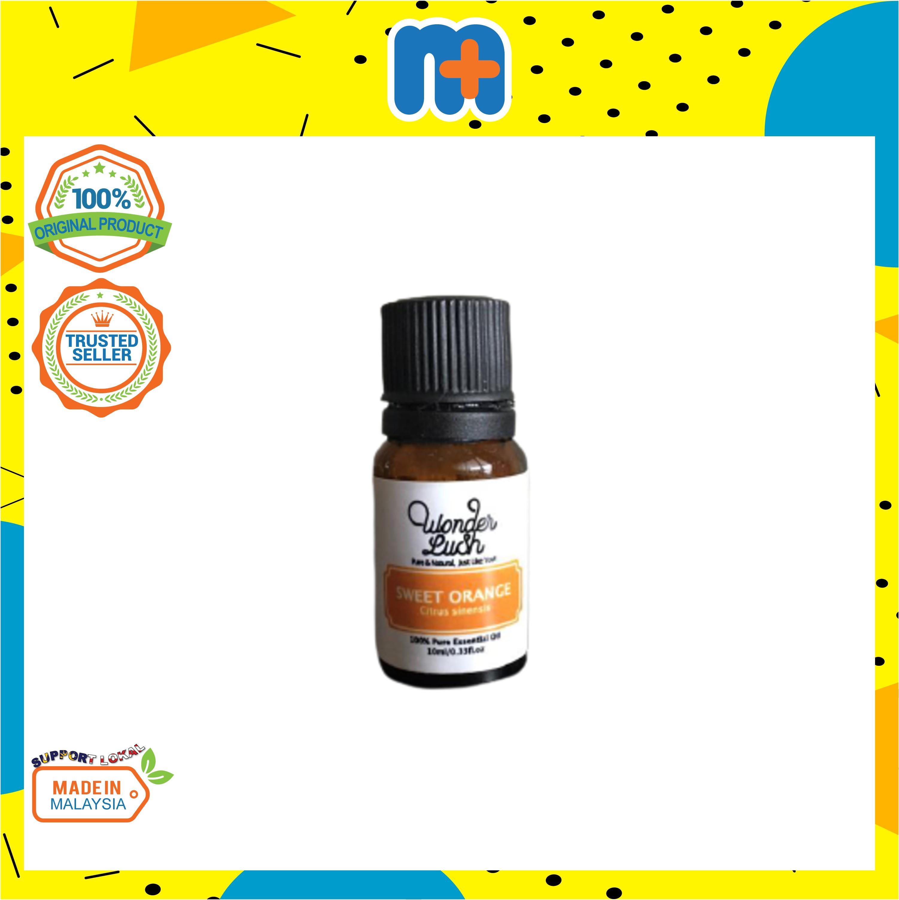 [MPLUS] WONDERLUSH Sweet Orange Essential Oil 10ml