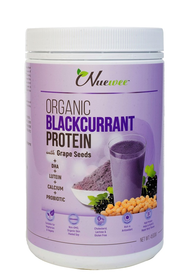 [MPLUS] Nuewee Organic Blackcurrant Protein With Grape Seed