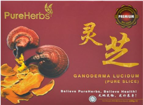 [MPLUS] Pureherbs Ph1001 Lingzhi Slice 60G