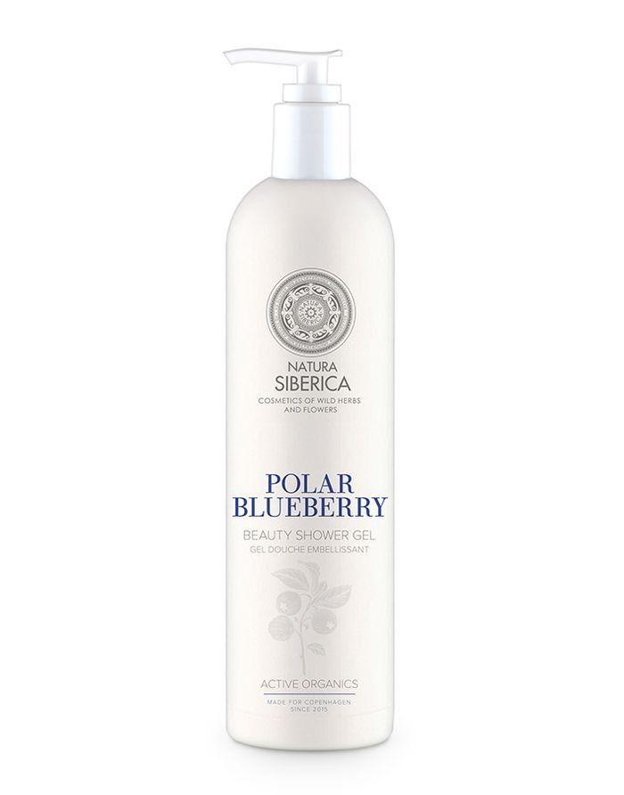 [MPLUS] Natura Siberica Copenhagen Beauty Shower Gel Polar Blueberry 400Ml