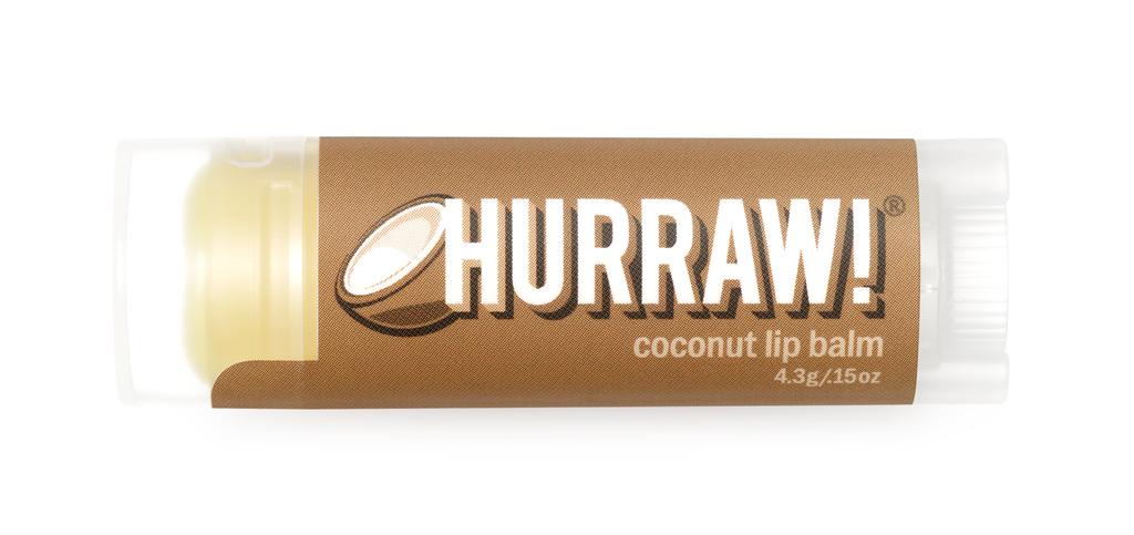 [MPLUS] HURRAW Coconut Lip Balm 4.8g