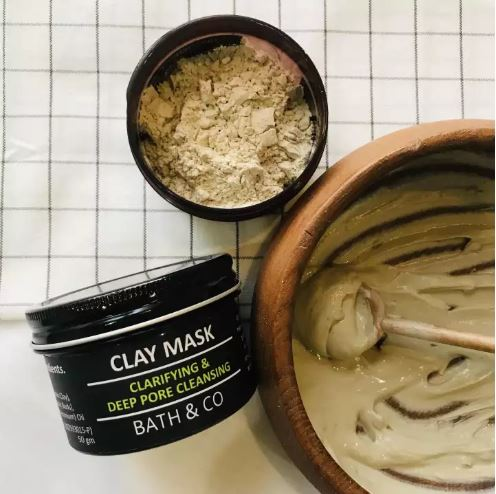 [MPLUS] Bath & Co Clarifying & Deep Pore Cleansing Clay Mask (For Face) 50G