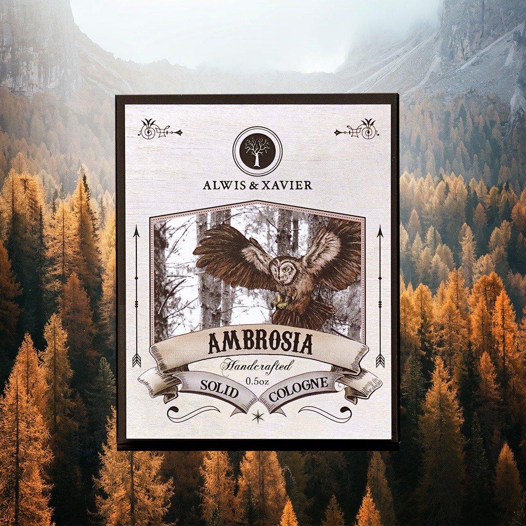 [MPLUS] ALWIS & XAVIER Ambrosia Solid Cologne 0.5Oz
