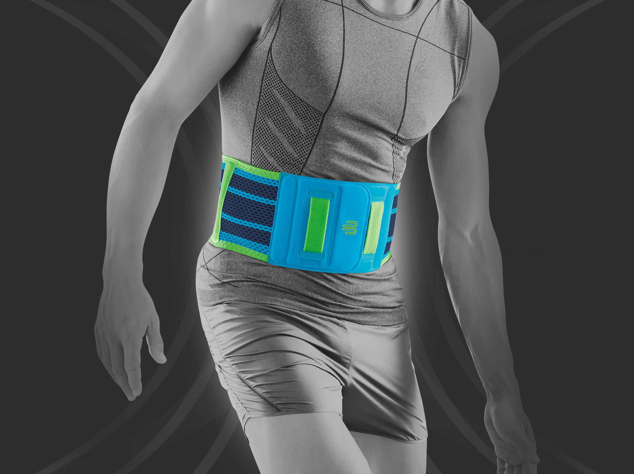 [MPLUS] BAUERFEIND Sports Back Support M