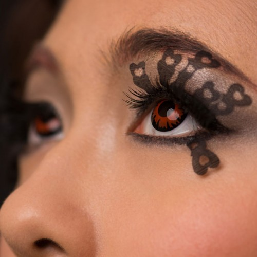 [MPLUS] OMOROSE Window To The Soul Premium Lace Eyelashes - Love-Struck