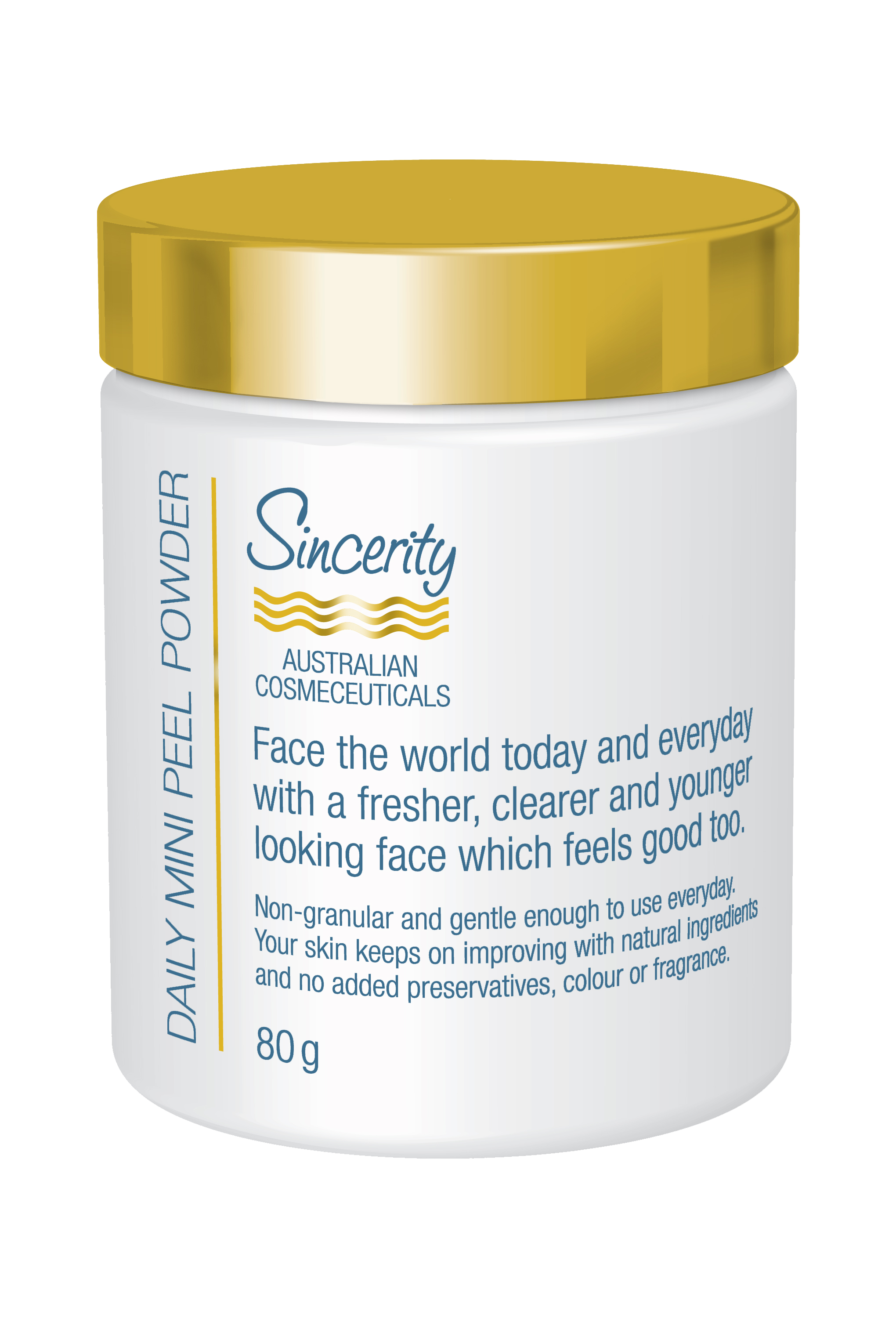 [MPLUS] Sincerity Daily Mini Peel Powder 80Gm
