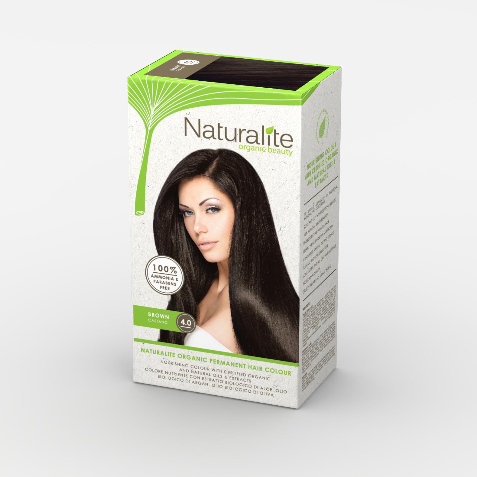 [MPLUS] Naturalite Hair Colour 4.0 [Brown]