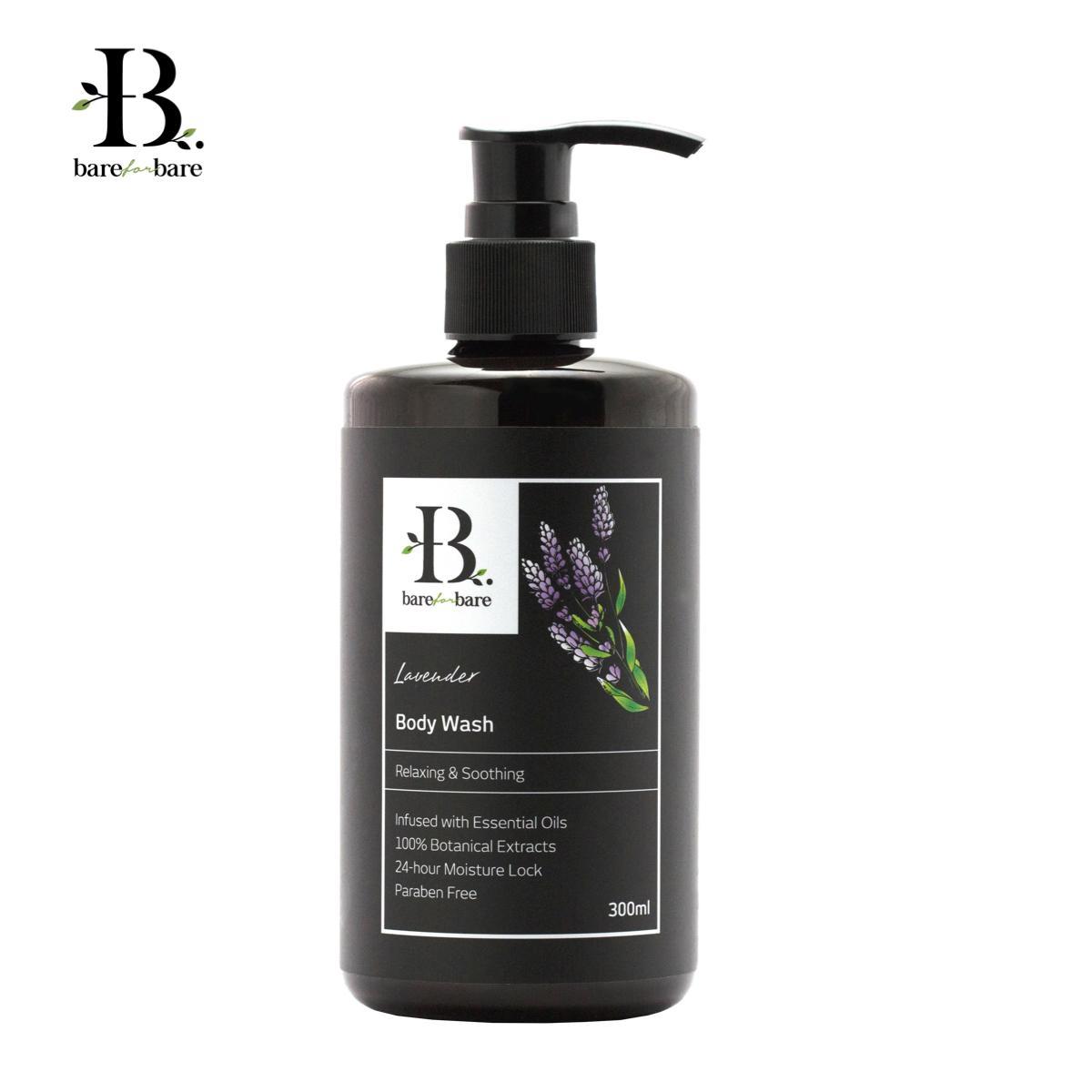 [MPLUS] BARE FOR BARE Body Wash Lavender 300ml