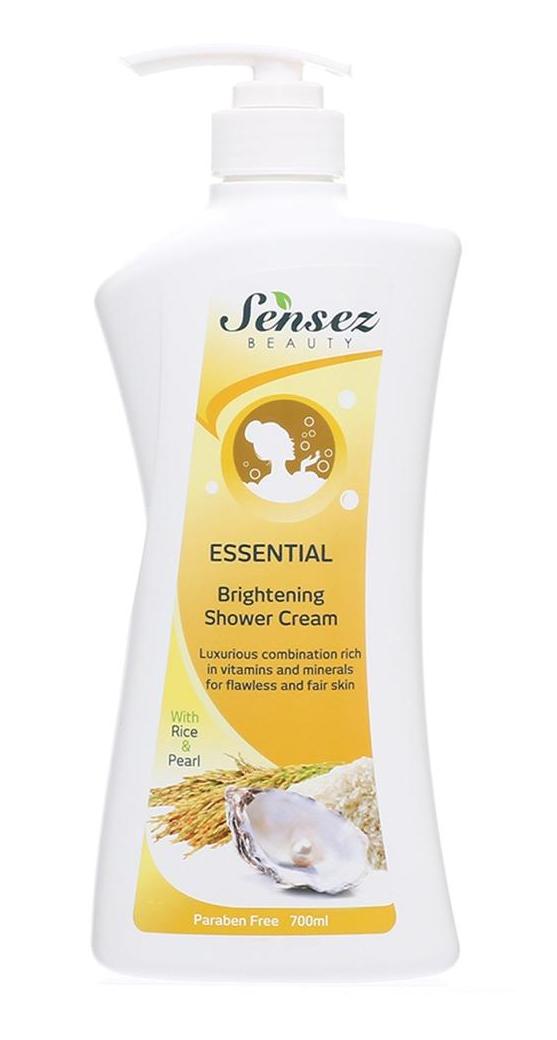 [MPLUS] Sensez Beauty Essential Brightening Shower Cream 700Ml