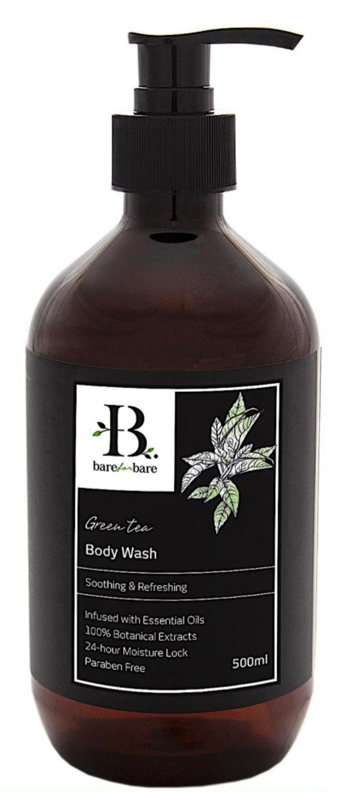 [MPLUS] BARE FOR BARE Body Wash Green Tea 500ml