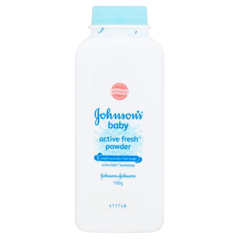 [MPLUS] Johnson Baby Active Fresh Powder 100G