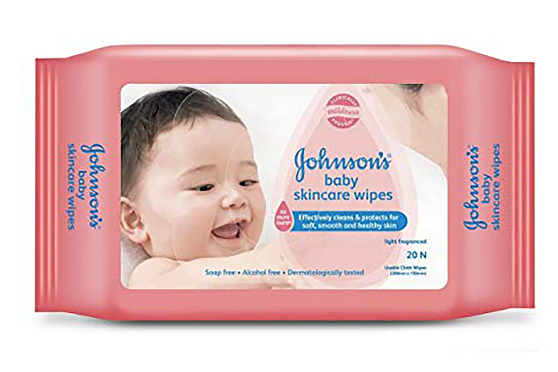 [MPLUS] Johnson Baby B Skincare Wipe Fragrance 20S