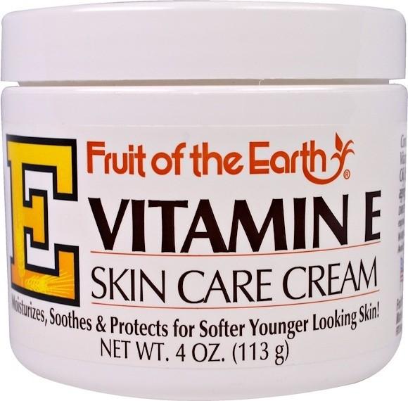 [MPLUS] Fruit Of The Earth Vitamin E Cream Jar 113G