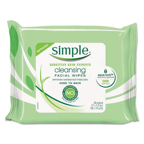 [MPLUS] Simple Cleansing Facial Wipes 25S
