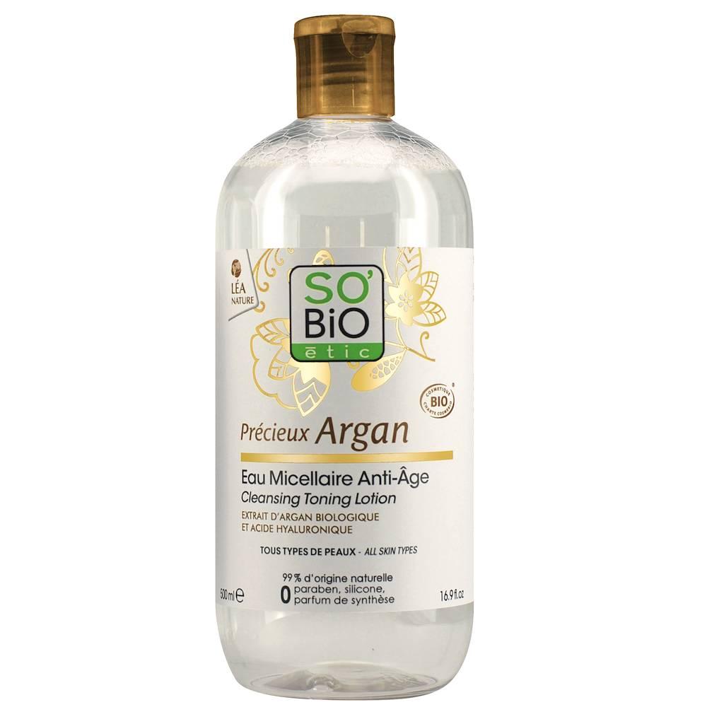 [MPLUS] So\'Bio Micellar Water With Organic Argan 500Ml
