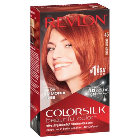 [MPLUS] Revlon Colorsilk 45 Bright Auburn