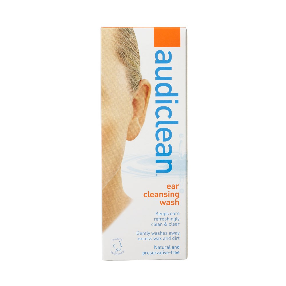 [MPLUS] Audiclean Ear Cleansing Wash 60Ml