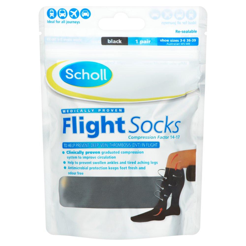 [MPLUS] Scholl Cotton Feel Flight Socks 3-6