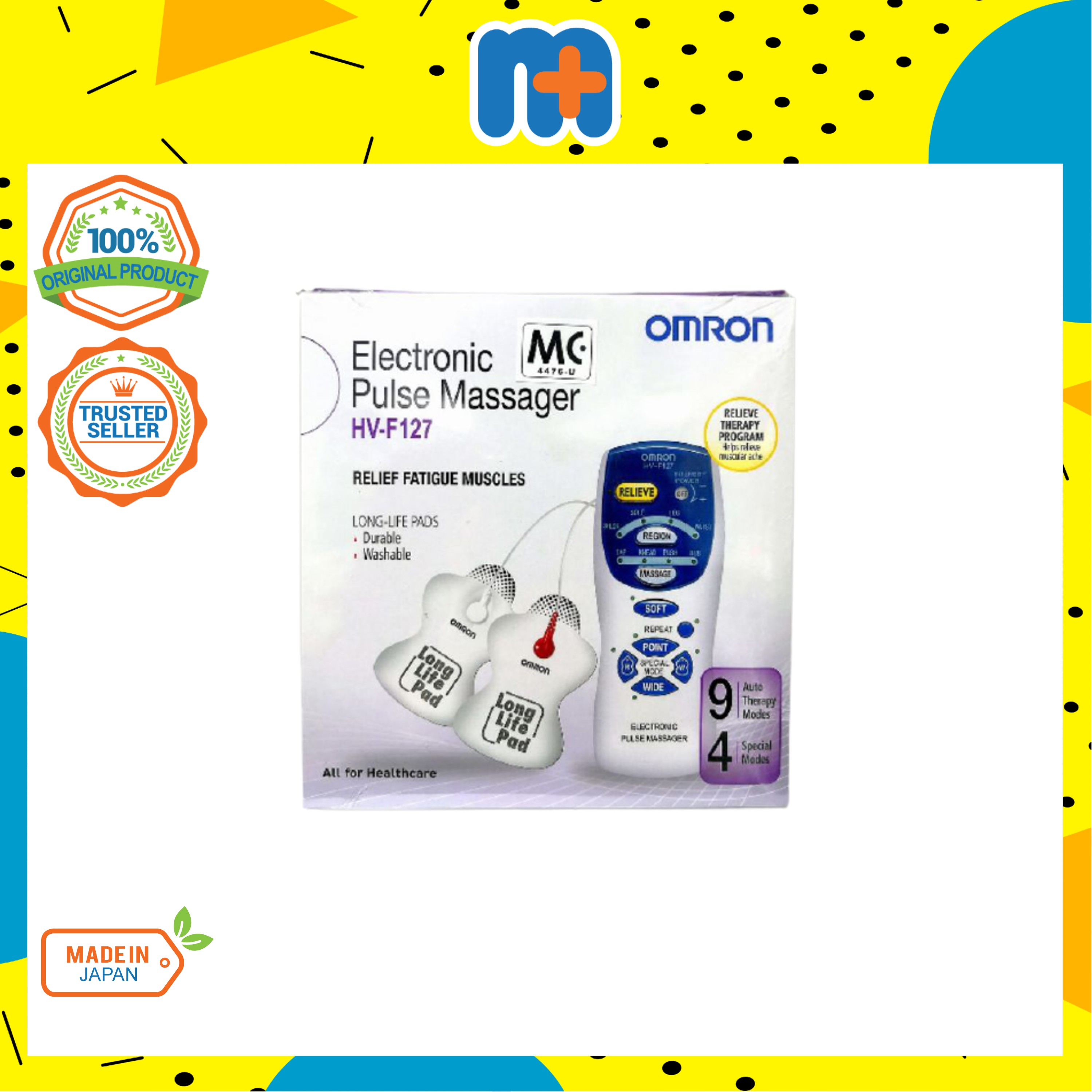 [MPLUS] OMRON Electronic Pulse Massager Hv-F127
