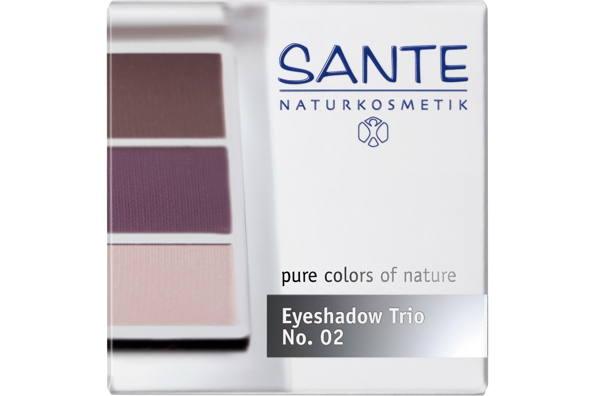[MPLUS] SANTE Eyeshadow Trios Aubergine 02 4.5g