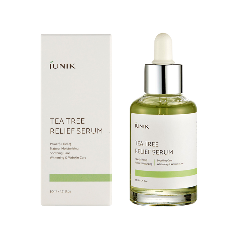 [MPLUS] Iunik Tea Tree Relief Serum 50Ml