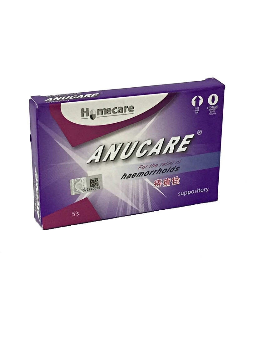 [MPLUS] ANUCARE Suppository 5S