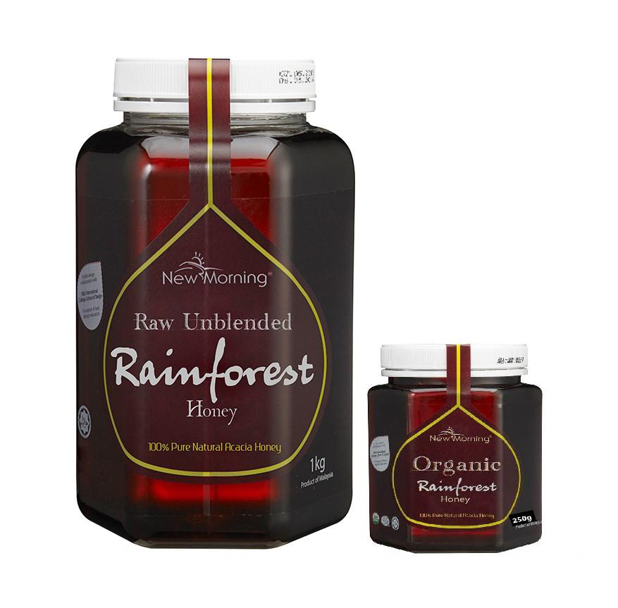 [MPLUS] New Morning Rainforest Honey 1Kg Foc Nat Rainforest Honey 250G
